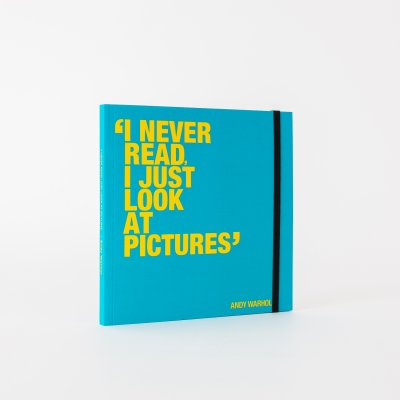 I never read... Warhol notebook