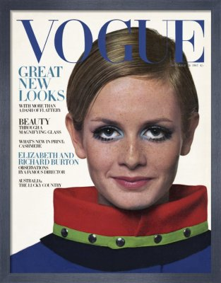 VOGUE, October 1967 with Twiggy